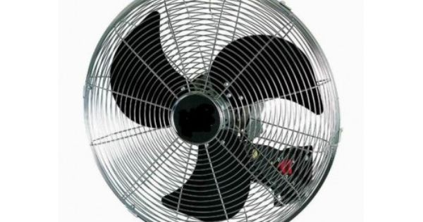 The Cyclone 450 Wall Fan Provides Powerful Air Movement To Area S
