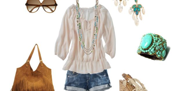 Summer Outfit: A little boho :)