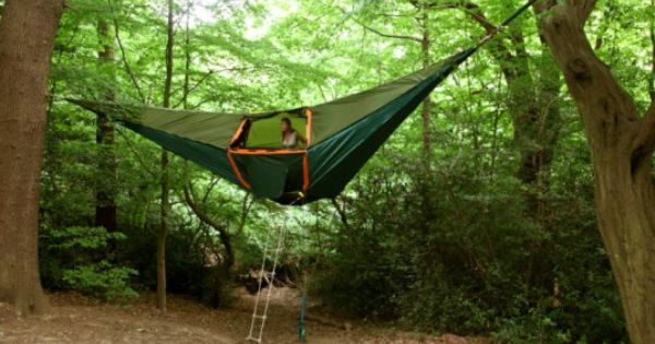 The Portable Treehouse cool idea, don't have to worry about bears or