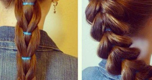 reverse pull through braid and standard pull through braid comparison