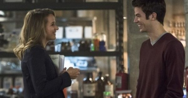 Patty Spivot And Barry Allen On The Flash The Flash Season