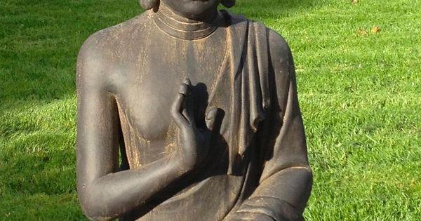 Superbe statue de bouddha zen jardin 73 cm pas cher priceminister projet - Statue de jardin pas cher ...