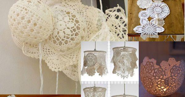 décoration mariage en dentelle www.fairepart.fr aime ! #dentelle # ...