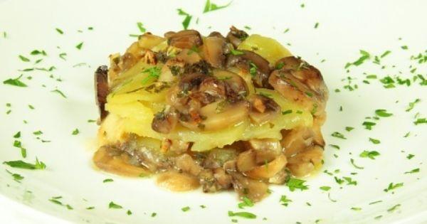 Sformato di funghi e patate ricette cucina vegetariana cookaround patate e zucchine - Cucina vegetariana ricette ...