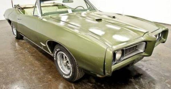 1968 Pontiac Gto Convertible Buy Classic Cars Classic Cars Classic Car Sales