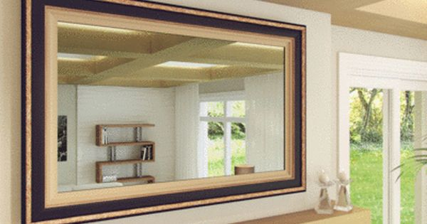 TV Mirror by FrameMyTV   Dielectric TV mirror   OptiClear Electric Mirror. 78  ideas about Mirror Tv on Pinterest   Hidden tv  Tv covers and