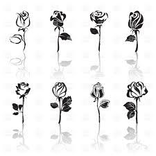 Stylized Rose Design Google Search White Rose Tattoos Black And White Rose Tattoo Disney Tattoos