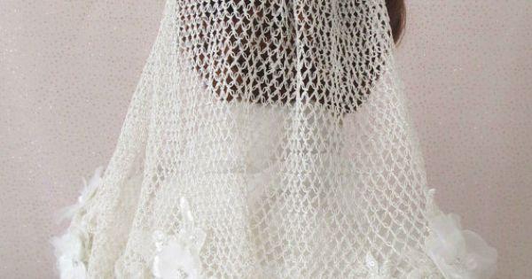 100 Handmade Crochet Wedding Veil Bridal Veils Made By