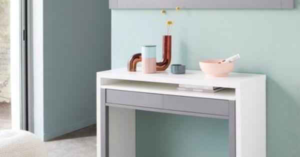 bureau console retractable les 3 suisses study guestroom pinterest. Black Bedroom Furniture Sets. Home Design Ideas