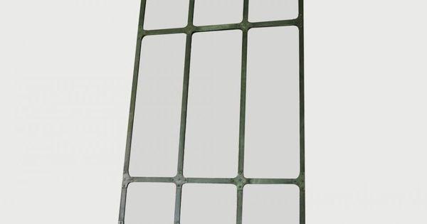 Miroir d 39 atelier xxl cadre m tallique for Miroir atelier chehoma