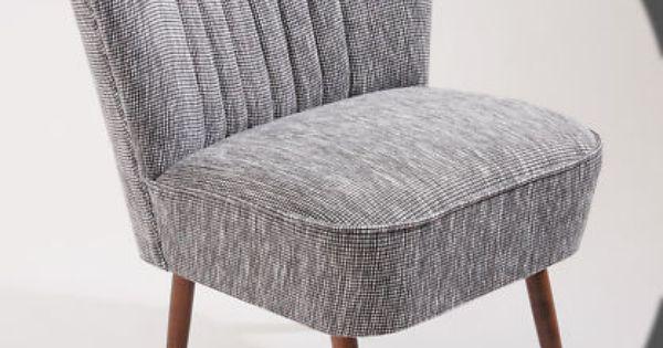 Cocktailsessel Der 50er Jahre Grau Schwarz Neue Serie Sessel Alter Sessel Alte Mobel
