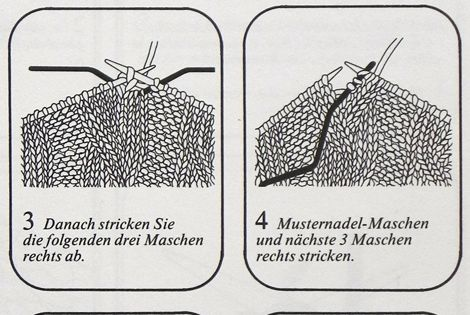 Strickanleitung dreifacher Zopf | Stricken | Pinterest ...