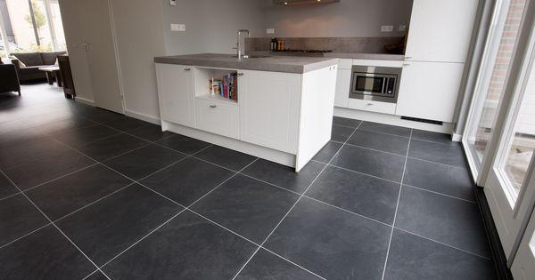 Keramische tegels vloertegels van keramiek bij kroon flooring tiles pinterest kitchen - Tegels van cement saint maclou ...