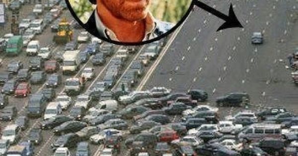 Chuck Norris Highway funny photo