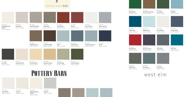 2013 colors colors pinterest pb teen pottery barn for Pottery barn teen paint colors