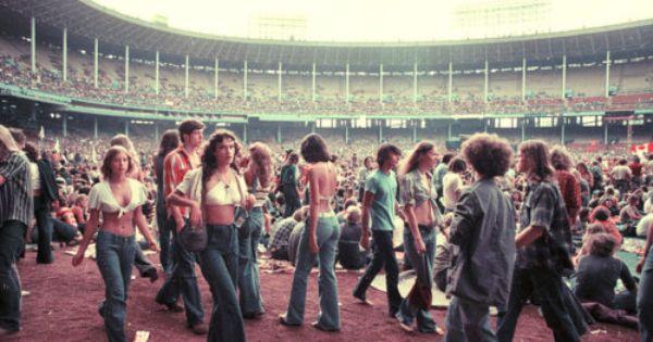1970s Rock Concert Rock Concert Concert Cleveland Concerts