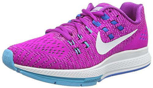 Nike Womens Air Zoom Structure 19 Running Shoe 75 HYPER