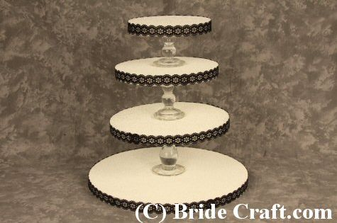 make your own cupcake wedding cake stand how to quot make your own pretty wedding cake cupcake stand 17010