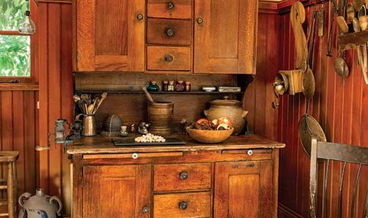 A Period Perfect Victorian Kitchen An Cabinets And Dark