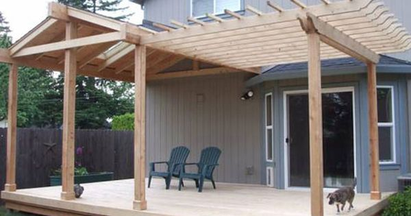 affordable patio addition patio designs ideas small backyards pinterest - Patio And Deck Ideas