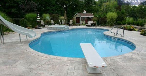 Pin By Eddie Eastwood On Pools Dream Backyard Pool Swimming Pool Slides Pool