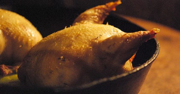 how to cook a partridge in oven