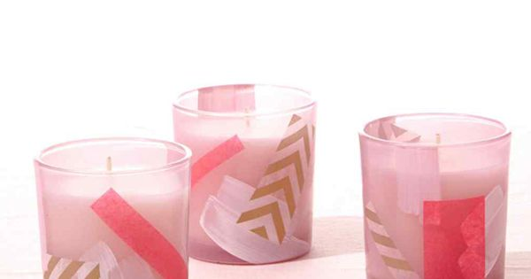 DIY votive candle holds are both super easy, and super chic.