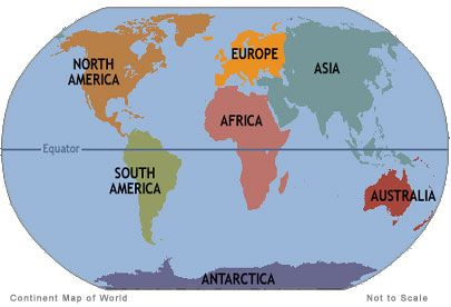 To touch all seven continents.   Continents, 7 continents, All ...