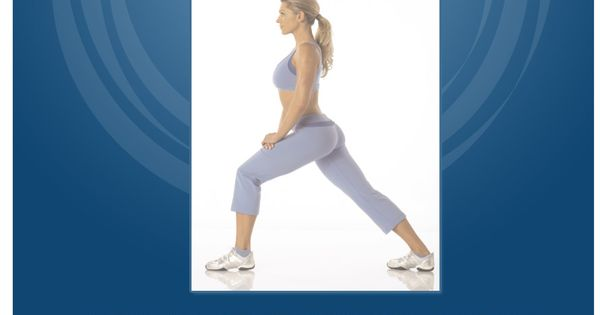 Kim Lyons Standing Calf Stretch Exercise | Nutrie Official ...