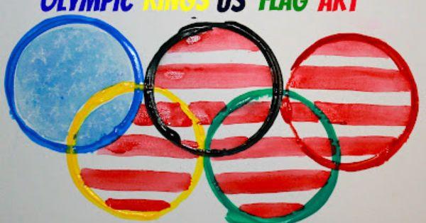 rings olympic flag