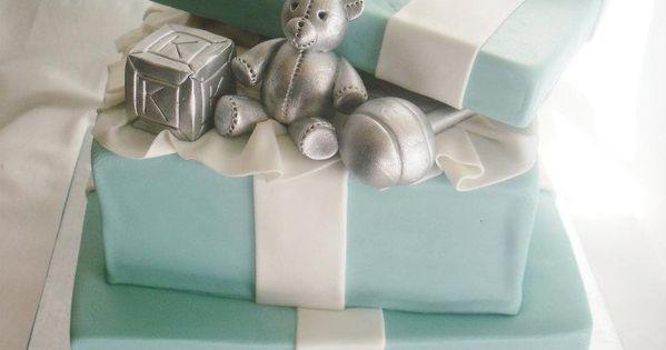 tiffany company baby shower invites   ... daily: Two Tier Tiffany &