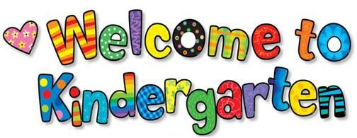 back to school graphics for kindergarten | to kindergarten i am so excited  to start another f… | Welcome to kindergarten, Welcome to preschool, Kindergarten  clipart