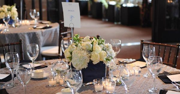 Genevieve Cortese and Jared Padalecki Wedding Great table setting. Like the linen,