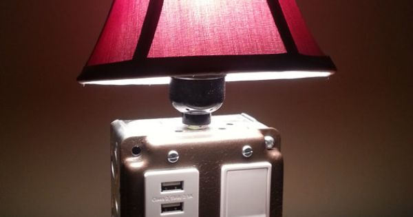 Table Or Desk Lamp With USB Charging Station For By