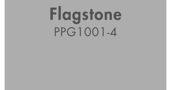 Flagstone PPG1001 4 From PPG Pittsburgh Paints Black