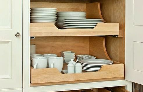 Plum Furniture Top 25 Must See Kitchens On Pinterest U2013 Laurel Home |  Wonderful Pantry With Pull Out Cabinet Drawers And Silverware Drawer April  24, ...