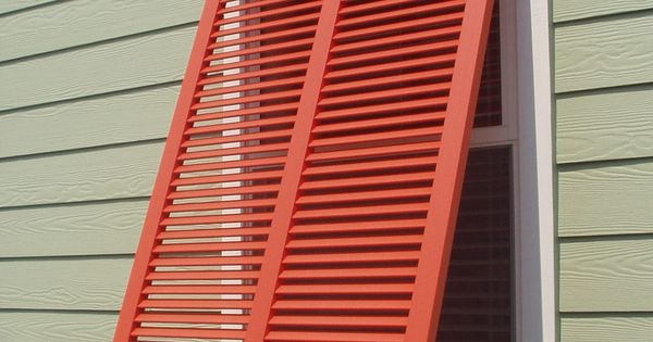 Bahama Style Shutters Are Very Popular Especially In