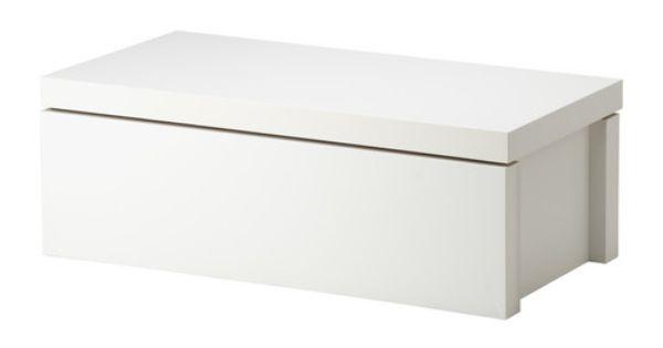 Malm meuble de rangement blanc ikea my future house - Mueble malm ikea ...