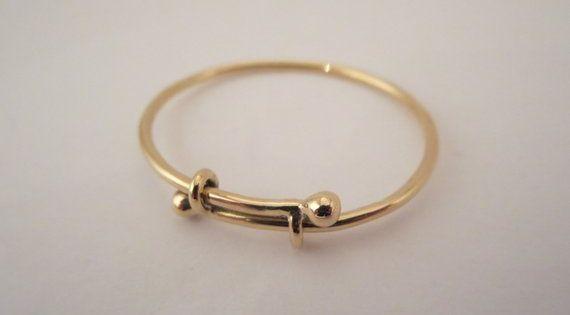 Baby Gift Jewelry Bracelet 14k Gold Bangle Expendable Etsy