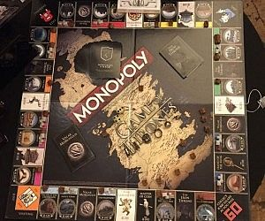 Monopoly Game Of Thrones Monopoly Game Monopoly Elephant Game