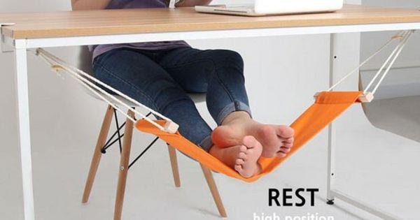 L 39 amaca per i piedi relax sotto la scrivania scrivania for Ascensore sotto la scrivania
