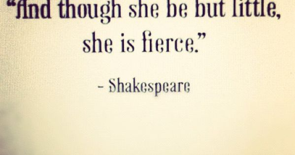 Midsummer night's dream - beautiful quote for my little girls' room
