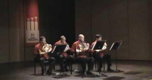 Budapest Festival Horn Quartet Ferenc Liszt Hungarian Rhapsody No 2 Quartet Liszt Budapest