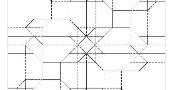 offset cubes tessellation