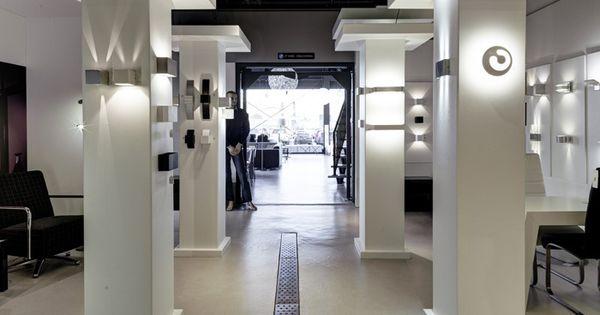 Showroom winkel interieur verlichting verlichting design wandlampen voor de slaapkamer - Kantoor interieur decoratie ...
