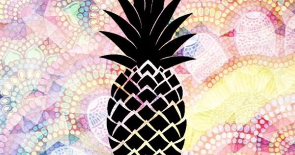 Pin By Ilikewallpaper Ios Wallpaper On Ipad Wallpapers: Pineapple Wallpaper!!! For Iphone, Ipod, And Ipad (Made