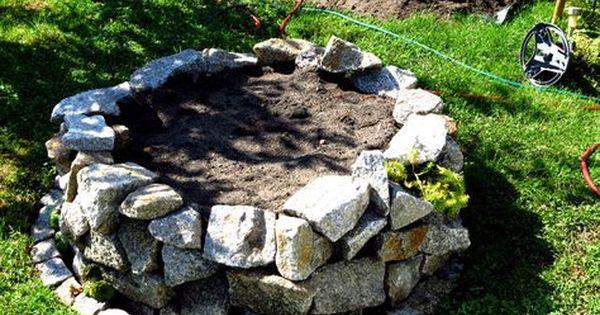 Hochbeet Trockenmauer Granitbruch Bauen Anleitung Garten Schrebergarten Natursteine Garten Hochbeet Garten Hochbeet