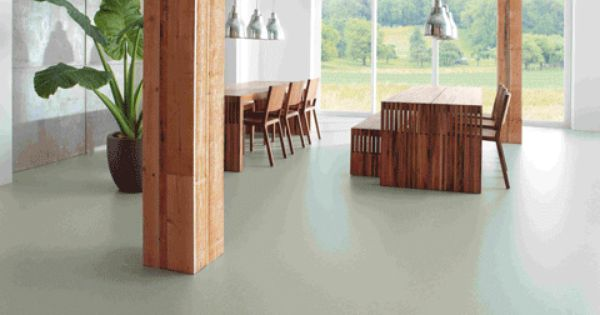 Maemoleum flooring a type of lino but gets good reviews for Cheapest type of flooring