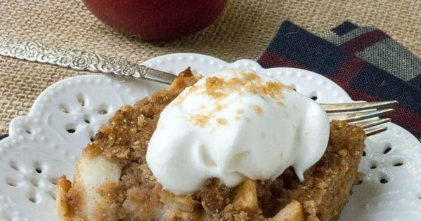 Low Carb Apple Cake Recipes: Low Carb Grain Free Apple Dump Cake