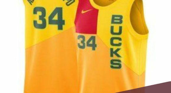 Milwaukee Bucks Giannis Antetokounmpo Cream Jersey Nwt In 2020 Jersey Nba Shirts Milwaukee Bucks